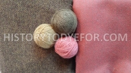 Plant dyed yarn and industrial dyed fabric