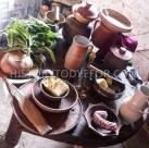 14th century breakfast table