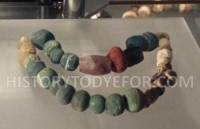 Viking glass beads
