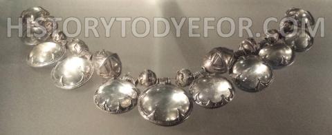 Viking rock crystal silver