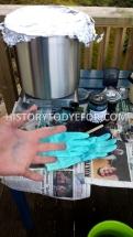 Indigo dye setup