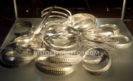 Viking silver bracelets